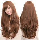 Popular Wigs Womens Lady Long Curly Wavy Hair Full Wig Party Cosplay Make Up