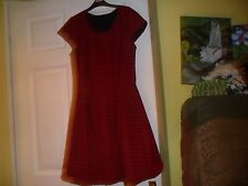 Short sleeve dress size 12 by Missi(london), 86 cms long, Polyester/Elastane