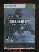 Brand New Factory Sealed Call of Duty Ghosts Hardened Edition Xbox 360 2013 RARE