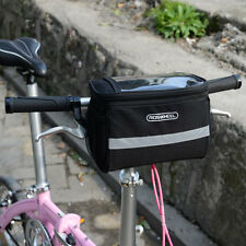 Fashion Large Storage Bike Front Handlebar Pannier Bicycle Cycling Bag Pouch