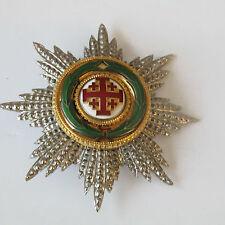 ORDRE ORDER MEDAILLE MEDAL ROYAL SAINT SEPULCRE DE JERUSALEM VATICAN ITALIA