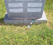 Graveyard Dirt (4 Ounces) + Coffin Nails (set of 5) Square Cut