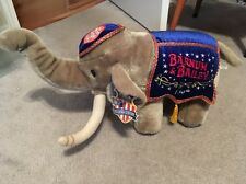 RINGLING BROS BARNUM AND BAILEY 130TH EDITION ELEPHANT PLUSH WITH TAG