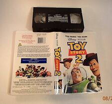 Toy Story 2 (VHS, 2000) Disney Pixar, Tom Hanks, Tim Allen