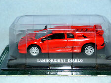 LAMBORGHINI DIABLO RED  Die-cast Car Del Prado MIB 1/43