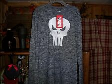 MENS PUNISHER LONG SLEEVE SHIRT SIZE SMALL COMIC BOOK APPAREL CASUAL SHIRT NEW