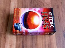NEU C-VHS Kassette TDK HS45 original verpackt Videocassette Camcorder Video rek