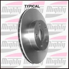 Disc Brake Rotor Front Mighty 34140