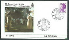 1989 VATICANO VIAGGI DEL PAPA LA REUNION ST DENIS - SV2