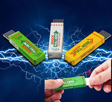 Electric Shocking Chewing Gum Toy Gift Shock Joke Gadget Prank Funny Trick Gag x