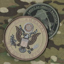 IRAQI FREEDOM GREEN ZONE CLUB MED US EMBASSY BAGHDAD SECURITY VeIcrọ INSIGNIA