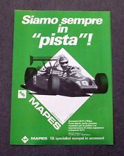 G243-Advertising Pubblicità - 1982 - MAPES ACCESSORI HI-FI E VIDEO
