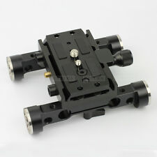 ARRI Type Rosette Clamp Dovetail Quick Release Base plate fr 15mm Rod FF Rig LWS
