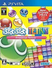 kb09 NEW Puyo Puyo Tetris Special Price Nintendo WII U JAPAN