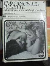 Emmanuelle Juliette - dell'ambiguo amore di de Nerciat ed. MEB 1969 illustrato
