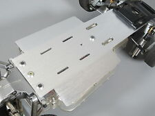 Aluminum Chassis Plate for Tamiya 1/10 RC Sand Scorcher Buggy Champ Fighting