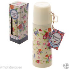 BOTANICAL GARDENS PETITE FLORAL DESIGN STAINLESS STEEL LUNCH FLASK AND CUP 350ML