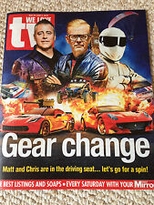 WE LOVE TV Magazine 5/2016 MATT LEBLANC Top Gear  Alexander Vlahos VERSAILLES