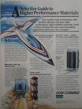 4/1989 PUB DOW CORNING SILICONE ELASTOMER SILICON CARBIDE FLUOROSILICONE AD