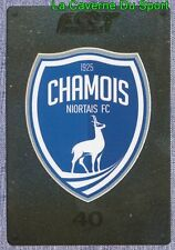 509 ECUSSON BADGE LOGO # CHAMOIS NIORTAIS.FC STICKER PANINI FOOT 2016