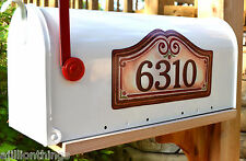 Mailbox Magnet Partial Cover  Address  PERSONALIZED Berries Mail Box