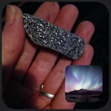 Viking Norse Faery Meditation Healing Super Sparkly Grey Rock From Arctic Norway