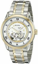 Bulova Men's 98A123 Two-Tone Stainless Steel Automatic Bracelet Watch