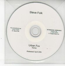 (DS549) Steve Folk, Urban Fox - DJ CD