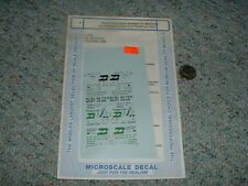Microscale Decals N 60-576 Burlington Northern 57' mech reefers cryogenic C100