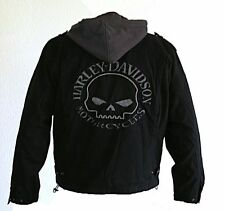 Harley-Davidson Jacke Skull Outerwear 3-in-1 Cotton Canvas Jacket Größe XL