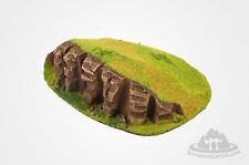 Wargame scenery - CLIFF HILL -  Warhammer W40K - 28 mm - Terrains 4 Games