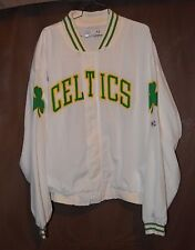 Rare Vintage 90s Champion NBA Boston Celtics Warm Up Jersey Jacket Men XL Bird