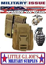 NEW USMC Marine Issue Coyote M67 MOLLE II Hand Grenade Pouch/Molle Compass Pouch