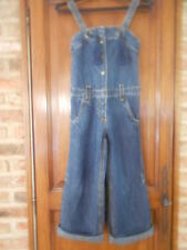salopette jeans  fille  taille  8 ans