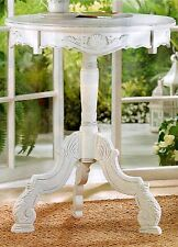 Exquisitely Carved ** LARGER PINE WOOD ROCOCO ACCENT TABLE ** NIB