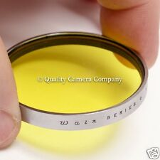 Walz Series 6 Yellow Filter - CLASSIC BLACK & WHITE CONTRAST FILTER+BOX - EX