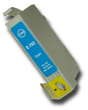 1 Cyan Compatible Non-OEM T0792 'Owl' Ink Cartridge with Epson Stylus PX830FWD