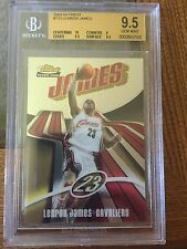 2003-04 Finest, Lebron James Rc! Bgs 9.5! #ed 690/999!