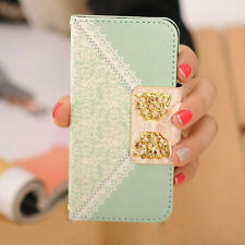 Fashion Fresh Cute Flip Wallet Leather Case Cover for iPhone 5S 5 5th