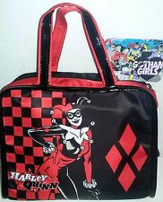 DC Comics Gotham Girls Cosmetic Bag - Harley Quinn NEW
