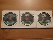 1987/89 Topps Baseball-3 COINS-Montreal Expos-BROOKS, GALARRGA, RAINES-Near Mint