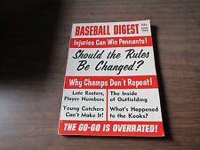 JUNE 1966  BASEBALL DIGEST  -SHOULD THE RULES BE CHANGED ?