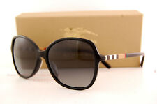 Brand New Burberry Sunglasses BE 4197 3001/T3 Black/Gradient Grey For Women