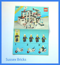 Lego Vintage Classic Town - 6386 Police Station - Instructions Only