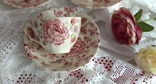 "Tea Duo "" ROSE CHINTZ"" BY JOHNSON BROTHERS"