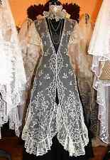 Magnificent Antique Brussels Lace Shawl/Wedding Veil
