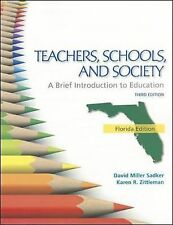 FLORIDA VERSION TEACHERS SCHOOLS AND SOCIETY: BRIEF INTRODUCTION TO EDUCATION, Z