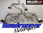 "Focus RS MK2 Milltek Exhaust 3"" Stainless Cat Back System Non Res & De Cat Pipe"