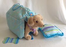 American Girl Doll Kailey Dog w/ Reversible Doghouse Golden Retriever