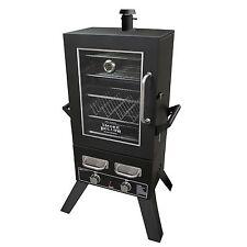 "New Gas BBQ Smoker Pro Series 44"" LP Propane Smoker with Window"